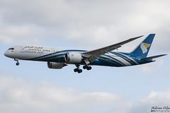 Oman Air --- Boeing 787-9 Dreamliner --- A4O-SD (Drinu C) Tags: adrianciliaphotography sony dsc rx10iii rx10 mk3 fra eddf plane aircraft aviation omanair boeing 7879 dreamliner a4osd 787