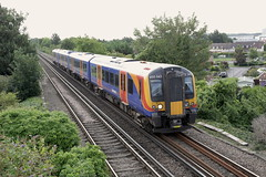 South West Trains 450 543 (Bristol MW Driver) Tags: portchester station southwesttrains 450543