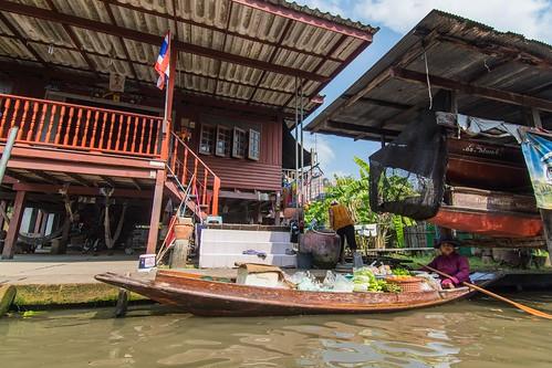 marche fottant damnoen saduak - thailande 41