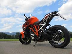 KTM Super Duke 1290 (7) (elgaspoo) Tags: ktm super duke 1290 hurric bike auspuff motorrad orange weiss