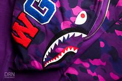 Purple Camo Bape Shark Hoodie. (dunksrnice) Tags: 2017 wwwdunksrnicecom dunksrnicecom dunksrnice rolotanedojr rolotanedo rolo tanedo jr