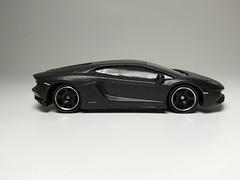Lamborghini Aventador LP 700-4 (king_joe007) Tags: 164 diecast car maisto lamborghini lp 7004 wheelswap matchbox wheels custom