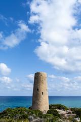 Torre de la Corda ([Nelooo]) Tags: torre corda benicàssim orpesa mar montaña mediterráneo cielo nubes paisaje castellón