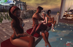 When Gaspare goes AFK on Mahalo (Prisqua) Tags: secondlife mahalo
