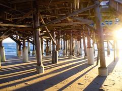 Florida Sunrise (Saaliahc) Tags: usa florida sunrise water beach omdm5 pier ocean cocoabeach