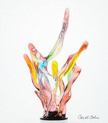 5DAR8163-Multicolor-rotating-nozzle (Carol Cohn) Tags: water waterdrops splash splashart liquid liquidart highspeedphotography macro fluids sculpture liquidsculpture gotas tropfen