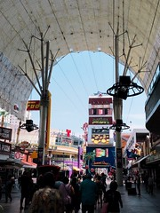 Las Vegas - Freemont Street (HeatherRees) Tags: travelphotography travelling travel america filmborn iphoneography photography iphone fremontstreet lasvegas