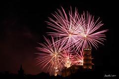P1340615 (daniellelallemand) Tags: feudartifice fireworks toulouse hautegaronne midipyrenées jacobins gx7