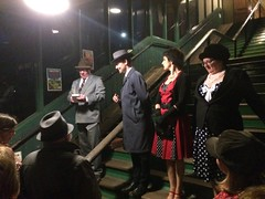 Great Central Railway Loughborough Leicestershire 21st July 2017 (loose_grip_99) Tags: greatcentral railway railroad rail train murdermystery gcr steam play dinner cast dénouement station loughborough leicestershire england uk eastmidlands trains railways