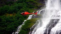 The Suitor Falls Geirangerfjord Norway (3) (rverc) Tags: thesuitor geirangerfjord norway helicopter falls