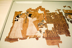 Horus play (Stray Toaster) Tags: cambridge fitzwilliam museum egyptian book dead papyrus ramose