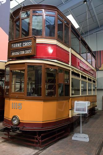 Glasgow tram | 1929 | Crich Tramway Village-41
