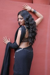 Actress Haripriya Saree Hot Photos in Abbai Class Ammayi Mass
