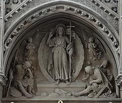 [52428] Horsforth : Reredos (Budby) Tags: horsforth church leeds westyorkshire altar reredos