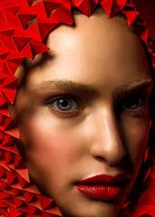 2017-6-5 Red (jerseytom55) Tags: red redlips portrait pentax645z 645z intense intimate closeup beautifulwoman