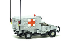 レゴ ウォードッグ野戦救急車(LEGO War Dog Medical Evacuation Vehicle)2 (popo lego) Tags: lego moc military army ambulance medical evacuation vehicle レゴ 野戦救急車