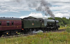 The Waverley Hellifield North Yorkshire 23rd July 2017 (loose_grip_99) Tags: hellifield north yorkshire sc england uk railway railroad rail midland train steam engine locomotive britishrailways br lner gresley a3 462 pacific 60103 flyingscotsman preservation transportation gassteam uksteam trains railways mainline july 2017 almostanything rosebay willowherb