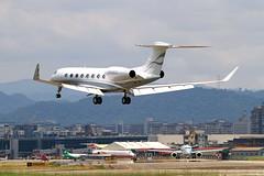 N858CG Gulfstream Aerospace G650 (G-VI) (阿樺樺) Tags: n858cg gulfstream aerospace g650 gvi