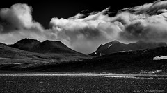 Clouds moving in (ÖE PHOTO (www.oe-photo.com)) Tags: öephoto örnerlendsson bw monochrome blackandwhite clouds mountains nature contrants iceland explore dark kerlingarfjöll d600 nikon fineart
