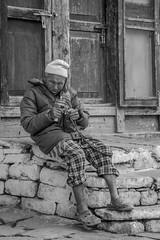 (michelle.dawn) Tags: pray buddhist man bhutan paro