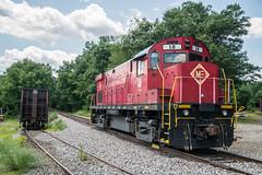 ME 18 at Lake Junction (Nick Gagliardi) Tags: train trains railroad morristown erie me alco diesel c424 american locomotive works