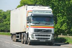 Volvo FH SSMT (Transport) Bedford SF08 BZT (SR Photos Torksey) Tags: truck transport haulage hgv lorry lgv logistics road commercial vehicle traffic freight volvo fh ssmt bedford
