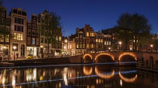 Amsterdam in a Blue Streak