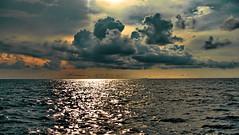 Andaman Sea (gerard eder) Tags: world travel reise viajes asia southeastasia andamansea sea seascape thailand phuket sunset sonnenuntergang puestadesol clouds wasser water wolken nubes oceania landscape landschaft paisajes natur nature naturaleza panorama playa costa coastline küste meer