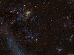 The Tarantula Nebula (Martin_Heigan) Tags: ngc2077 ngc2070 ngc2048 ngc1966 tarantula nebula astrophotography astronomy qhy amateurastronomy martin heigan telescope imagingrefractor refractingtelescope astrograph wostar71 71mm f49 5element apo williamoptics qhyccd qhy163m cooledcmos coldmos qhycfw2mus polemaster celestronavx advancedvx orionstarshootautoguider phdguiding optolongfilters monochrome astronomycamera fitsformat scientificcamera pixelmath narrowband lpro lrgb widefield dso hst hubblepalette doublyionisedoxygen universe sgp sequencegeneratorpro pixinsight science physics deepsky space southafrica mhastrophoto astrometrydotnet:id=nova2205693 astrometrydotnet:status=solved
