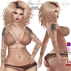 LUSH Chosen One_tattoo (Kayshla Aristocrat) Tags: tattoo bodyart ink lush lostfound appliers dreamcatchers birds kayshlaaristocrat