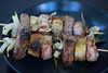 Pork, fennel and bread skewers (Mei Man Ren Sheng) Tags: barbecue bbq brochettes kebab pork skewers spiedini