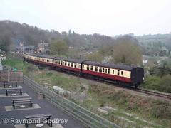 46443 (LMS 2-6-0 Ivatt Class 2) (Faversham 2009) Tags: highley 46443 svr severnvalleyrailway shropshire lms ivatt class2 260 steam locomotive loco engine train