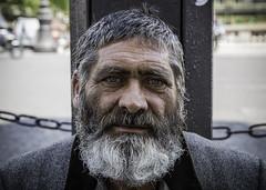 Portrait (Explored #497 23rd July, 2017) (Hemzah Ahmed) Tags: portrait portraiture portraitphotography portraits man beard bearded 2470mmf28ii canon2470mmf28iil canon5dmarkiii canon5dmark3 paris parisian parisien blueeyes contrast oldman wisdom