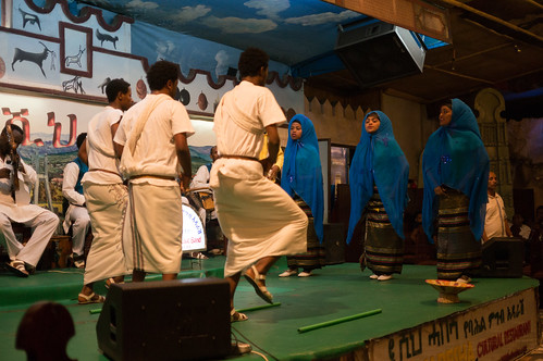 Music and Dance at Restaurant