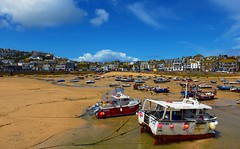 The port of Saint Ives (MaiGoede) Tags: england southcoastofengland saintives atlantik landscape landschaft meer ammeer nikon uk golden