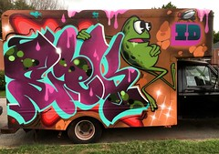 Boxtruck-frog (SIEKONE.ID) Tags: siek flyid graffiti art truck boxtruck pa pfe kts gak crew siekflyid