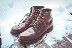 Wolverine Kilometer Boots (Stephen Valcourt) Tags: boots wolverine snow products