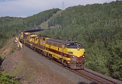 LTV 4210 West at Cramer, MN (wales23us) Tags: ltv ltvsteel cramer cramertunnel 812000 ltv4210 f9a f9 emd