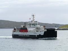 Barra to Eriskay Calmac ferry (Niall Corbet) Tags: scotland outerhebrides hebrides barra sea coast ferry calmac