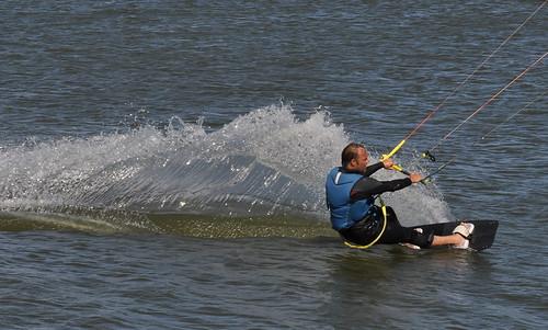 Kitesurfen Oostvaardersdijk