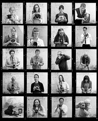 Blue Moon Camera Staff 2017 (jimhairphoto) Tags: bluemooncamera staff portraits 120 film hasselblad 120film ilford hp5 blackandwhite blancetnoir schwarzeaufweis blancoynegro blancinegre siyahrebeyaz jimhairphoto