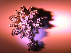 Jewels for the Queen (christikren) Tags: macromondays macro queen pink juwelen christikren jewels light