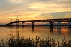 our bridge at sunrise (useless no more) Tags: nwt scottlough canadanorth arctic subarctic northerncanada