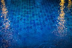 Blue condition (Мaistora) Tags: blue water pool tiles light yellow ripples reflections abstract blues bluecondition corridor direction keeping azure indigo blu cobalt ultramarin concept background wallpaper sony alpha ilce a6000 sel1650pz lightroom