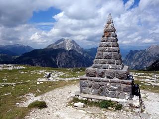Piramide Carducci, Monte Piana