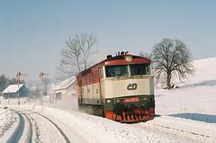 749240_6 by Pavel-Bures - 749.240, Lv 70479 Letohrad - Międzylesie, Lichkov, 26. února 2006