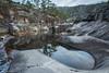 Jettegryter i treungen i Telemark (RineGC) Tags: telemark treungen elv jettegryter landskap natur nature potholes speiling vann vatn water