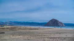Morro Rock (luis89.jpg) Tags: morrobay california beach beaches coastal cahighway1 highway1 pacificcoast sanluisobispo slocounty slo visitslo visitmorrobay samsung samsungnx3000 visitcalifornia 805 coast fog cloudy foggy powerplant