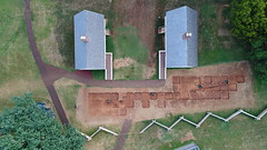 DJI_0023 (Montpelier Archaeology) Tags: indianadrone archaeology aerial fencelin fenceline southyard