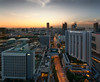 Downtown (HakWee) Tags: singapore sunset downtown architecture vertorama